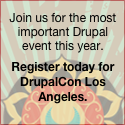 Don't miss DrupalCon Los Angeles
