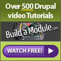 Learn Drupal with tons of focused Drupal tutorials at Build a Module.com