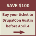 Buy your ticket to DrupalCon Austin