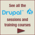 See all of the Drupal 8 sessions and training courses